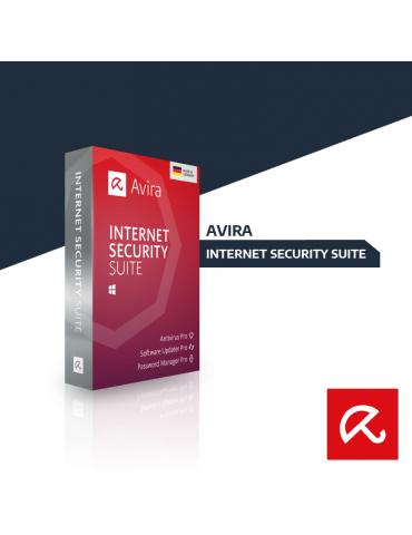 Avira Internet Security Suite 3 PC's | 1 Ano