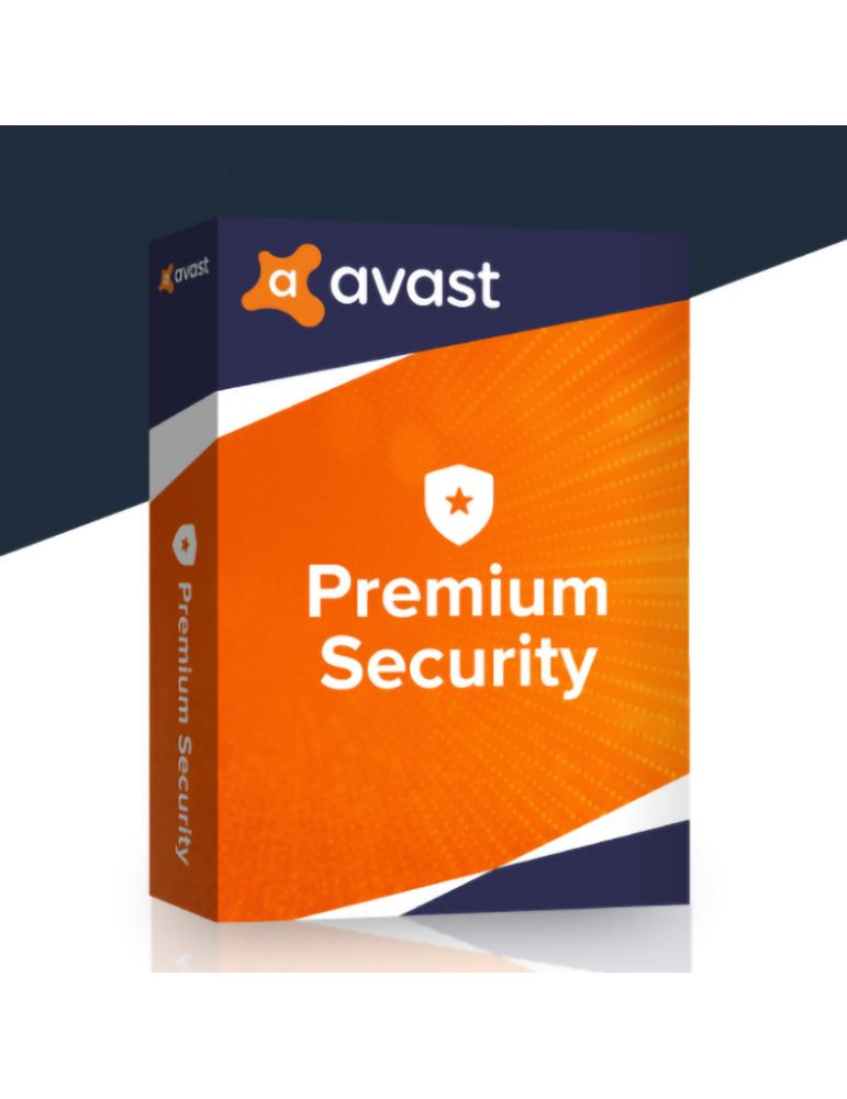 Avast Premium Security 3 PC's | 1 Ano