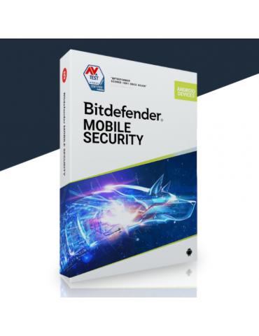 Bitdefender Mobile Security 1 Dispositivo   2 Anos