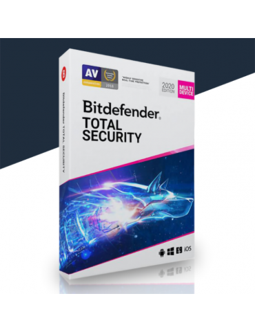Bitdefender Total Security 10 PC's | 1 Year