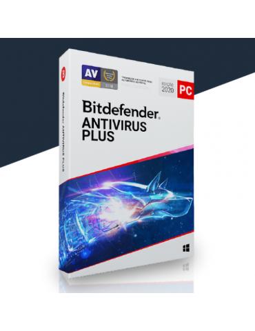 Bitdefender Antivirus Plus 1 PC | 1 Ano