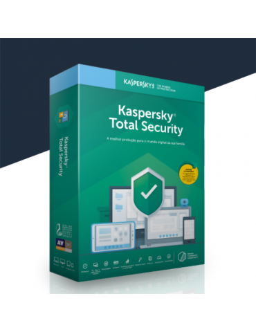 Kaspersky Total Security 5 PC's | 1 Ano (Voucher)