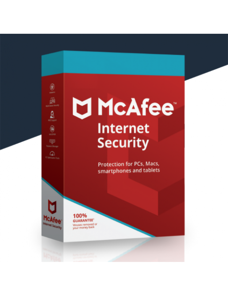 Mcafee Internet Security 10 PC's | 1 Ano