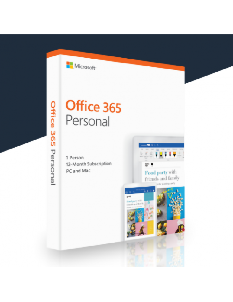 Microsoft Office 365 Personal 1 PC | 1 Ano