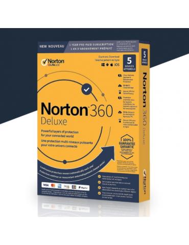Norton 360 Deluxe 5 PC's |...