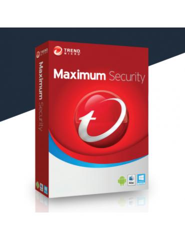 Trend Micro Maximum Security 3 PC's | 1 Ano